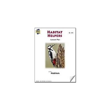 On The Mark Press Habitat Helpers Lesson Plan Science Workbook, Grade 4 - Grade 6 [eBook]