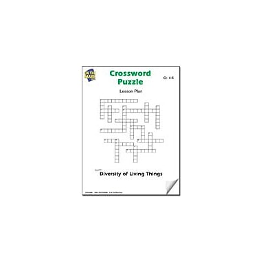 On The Mark Press Crossword Puzzle Lesson Plan Science Workbook, Grade 4 - Grade 6 [eBook]