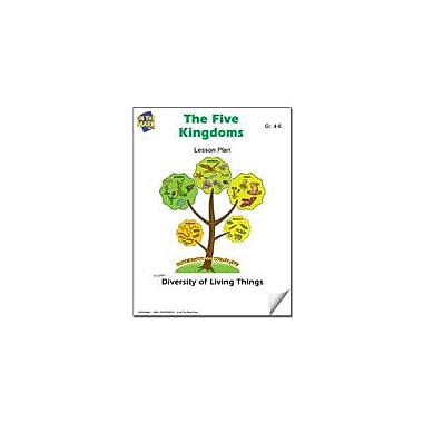 On The Mark Press The Five Kingdoms Lesson Plan Science Workbook, Grade 4 - Grade 6 [eBook]
