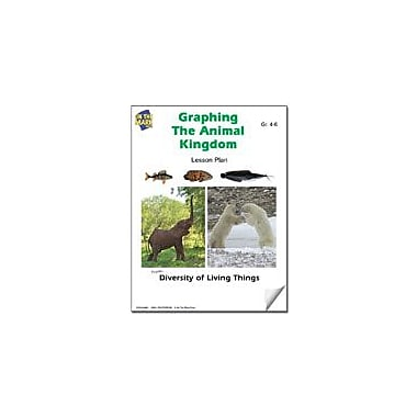 On The Mark Press Graphing the Animal Kingdom Lesson Plan Science Workbook, Grade 4 - Grade 6 [eBook]