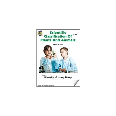 On The Mark Press Scientific Classification of Plants and Animals Lesson Plan Science Workbook, Grade 4 - Grade 6 [eBook]