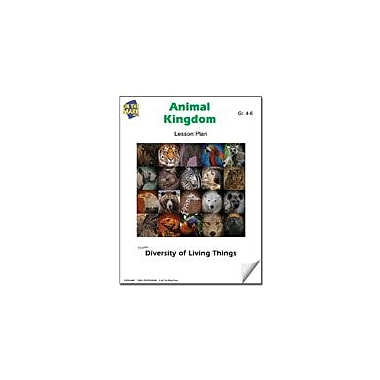 On The Mark Press Animal Kingdom Lesson Plan Science Workbook, Grade 4 - Grade 6 [eBook]