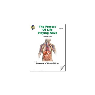On The Mark Press Staying Alive Lesson Plan Science Workbook, Grade 4 - Grade 6 [eBook]