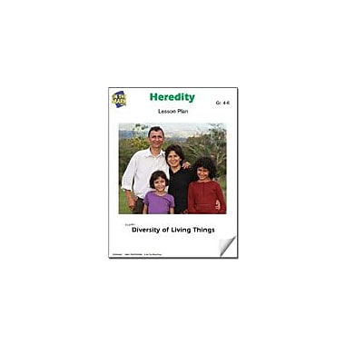 On The Mark Press Heredity Lesson Plan Science Workbook, Grade 4 - Grade 6 [eBook]