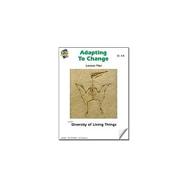 On The Mark Press Adapting to Change Lesson Plan Science Workbook, Grade 4 - Grade 6 [eBook]