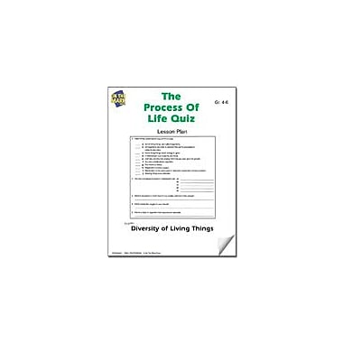 On The Mark Press The Process of Life Quiz Lesson Plan Science Workbook, Grade 4 - Grade 6 [eBook]