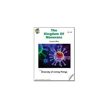 On The Mark Press The Kingdom of Monerans Lesson Plan Science Workbook, Grade 4 - Grade 6 [eBook]