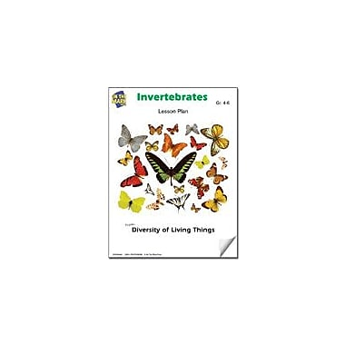 On The Mark Press Animals Without Backbones Lesson Plan Science Workbook, Grade 4 - Grade 6 [eBook]