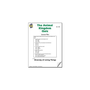 On The Mark Press The Animal Kingdom Quiz Lesson Plan Science Workbook, Grade 4 - Grade 6 [eBook]