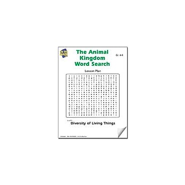 On The Mark Press The Animal Kingdom Word Search Lesson Plan Science Workbook, Grade 4 - Grade 6 [eBook]