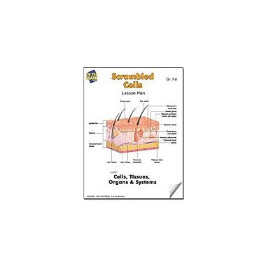 On The Mark Press Scrambled Cells Lesson Plan Science Workbook, Grade 7 - Grade 8 [eBook]