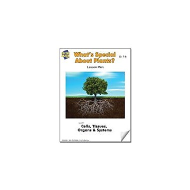 On The Mark Press What's Special About Plants? Lesson Plan Science Workbook, Grade 7 - Grade 8 [eBook]