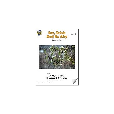 On The Mark Press Eat, Drink and Be Airy Lesson Plan Science Workbook, Grade 7 - Grade 8 [eBook]