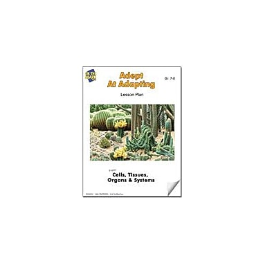 On The Mark Press Adept At Adapting Lesson Plan Science Workbook, Grade 7 - Grade 8 [eBook]