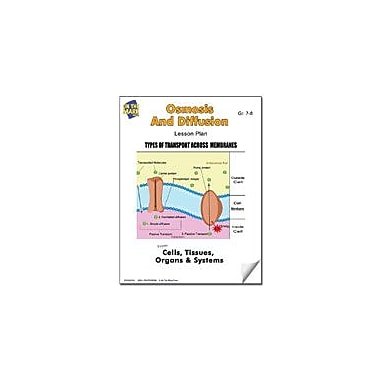 On The Mark Press Osmosis and Diffusion Lesson Plan Science Workbook, Grade 7 - Grade 8 [eBook]