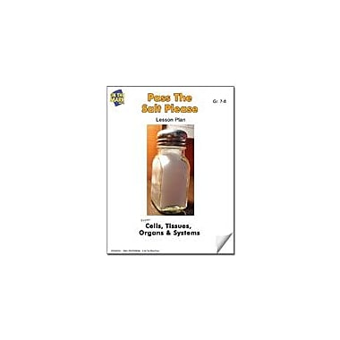 On The Mark Press Pass the Salt Please Lesson Plan Science Workbook, Grade 7 - Grade 8 [eBook]