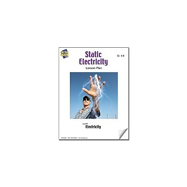 On The Mark Press Static Electricity Lesson Plan Science Workbook, Grade 4 - Grade 6 [eBook]