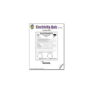 On The Mark Press Electricity Quiz Lesson Plan Science Workbook, Grade 4 - Grade 6 [eBook]