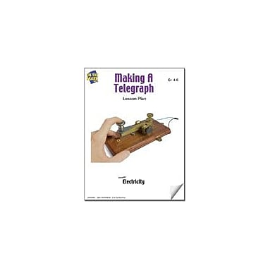 On The Mark Press Making A Telegraph Lesson Plan Science Workbook, Grade 4 - Grade 6 [eBook]