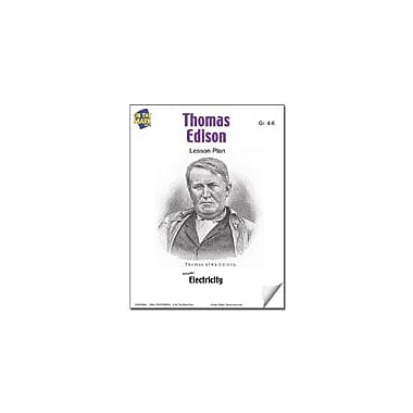 On The Mark Press Thomas Edison Lesson Plan Science Workbook, Grade 4 - Grade 6 [eBook]