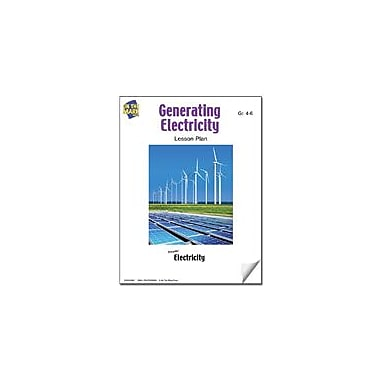 On The Mark Press Generating Electricity Lesson Plan Science Workbook, Grade 4 - Grade 6 [eBook]