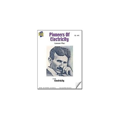 On The Mark Press Pioneers of Electricity Lesson Plan Science Workbook, Grade 4 - Grade 6 [eBook]