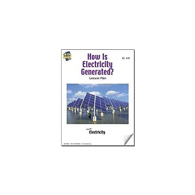 On The Mark Press How Is Electricity Generated Quiz Lesson Plan Science Workbook, Grade 4 - Grade 6 [eBook]