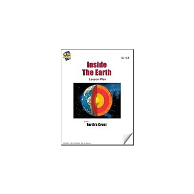 On The Mark Press Inside the Earth Lesson Plan Science Workbook, Grade 6 - Grade 8 [eBook]