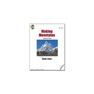 On The Mark Press Making Mountains Lesson Plan Science Workbook, Grade 6 - Grade 8 [eBook]