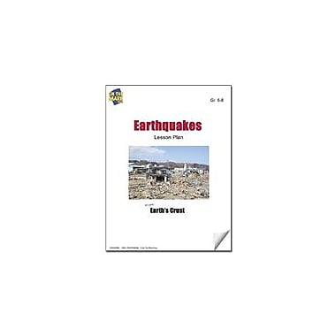 On The Mark Press Earthquakes Lesson Plan Science Workbook, Grade 6 - Grade 8 [eBook]