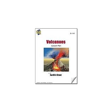 On The Mark Press Volcanoes Lesson Plan Science Workbook, Grade 6 - Grade 8 [eBook]