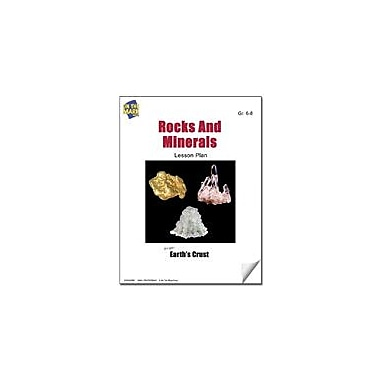 On The Mark Press Rocks and Minerals Lesson Plan Science Workbook, Grade 6 - Grade 8 [eBook]