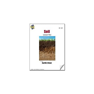 On The Mark Press Soil Lesson Plan Science Workbook, Grade 6 - Grade 8 [eBook]