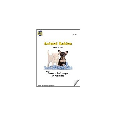 On The Mark Press Animal Babies Lesson Plan Science Workbook, Grade 2 - Grade 3 [eBook]