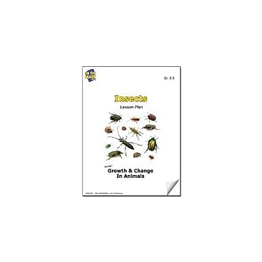 On The Mark Press Insects Lesson Plan Science Workbook, Grade 2 - Grade 3 [eBook]