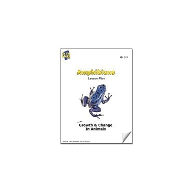 On The Mark Press Amphibians Lesson Plan Science Workbook, Grade 2 - Grade 3 [eBook]