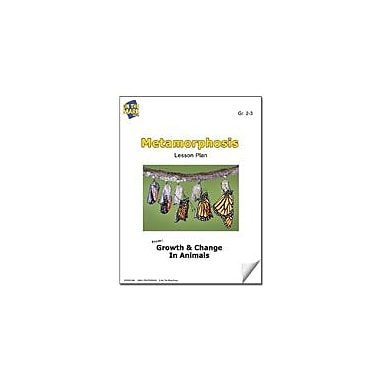 On The Mark Press Metamorphosis Lesson Plan Science Workbook, Grade 2 - Grade 3 [eBook]