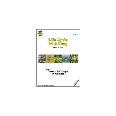 On The Mark Press Life Cycle of A Frog Lesson Plan Science Workbook, Grade 2 - Grade 3 [eBook]