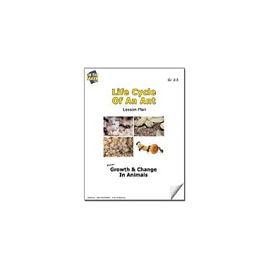 On The Mark Press Life Cycle of An Ant Lesson Plan Science Workbook, Grade 2 - Grade 3 [eBook]