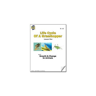 On The Mark Press Life Cycle of A Grasshopper Lesson Plan Science Workbook, Grade 2 - Grade 3 [eBook]
