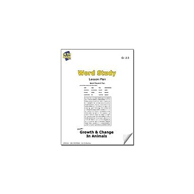 On The Mark Press Word Study Lesson Plan Science Workbook, Grade 2 - Grade 3 [eBook]