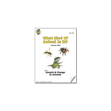 On The Mark Press What Kind of Animal Is It? Lesson Plan Science Workbook, Grade 2 - Grade 3 [eBook]