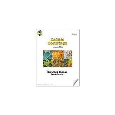 On The Mark Press Animal Coverings Lesson Plan Science Workbook, Grade 2 - Grade 3 [eBook]