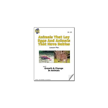 On The Mark Press Animals That Lay Eggs and Animals That Have Babies Lesson Plan Science Workbook, Grade 2 - Grade 3 [eBook]