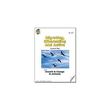 On The Mark Press Migrating, Hibernating and Active Lesson Plan Science Workbook, Grade 2 - Grade 3 [eBook]