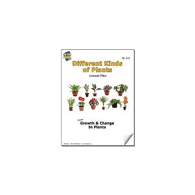 On The Mark Press Different Kinds of Plants Lesson Plan Science Workbook, Grade 2 - Grade 3 [eBook]