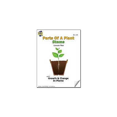 On The Mark Press Parts of A Plant, Stems Lesson Plan Science Workbook, Grade 2 - Grade 3 [eBook]