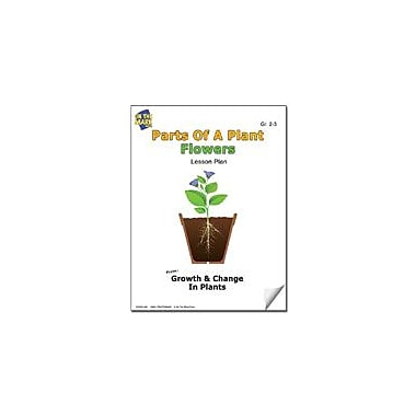 On The Mark Press Parts of A Plant, Flowers Lesson Plan Science Workbook, Grade 2 - Grade 3 [eBook]