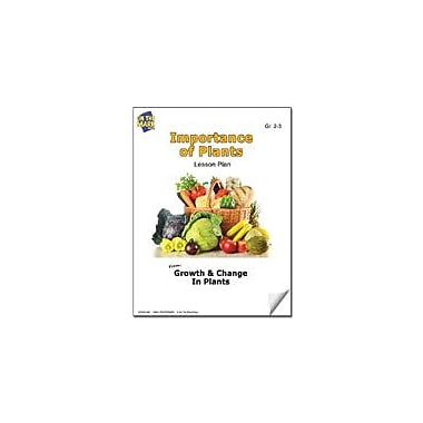 On The Mark Press Importance of Plants Lesson Plan Science Workbook, Grade 2 - Grade 3 [eBook]