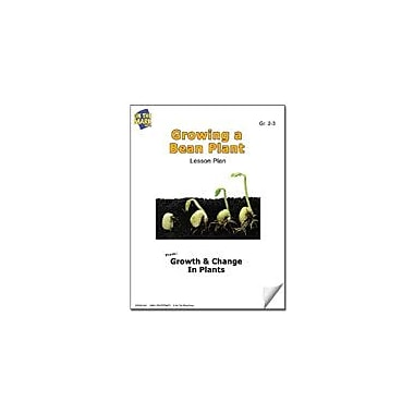 On The Mark Press Growing A Bean Plant Lesson Plan Science Workbook, Grade 2 - Grade 3 [eBook]